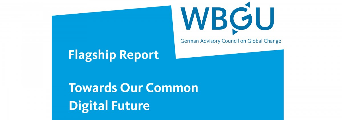 "Cover of the report ""Towards Our Common Digital Future"""